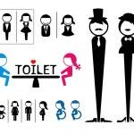 Toilet sign — Stock Vector #37601231