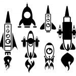 Rocket vector — Stock Vector