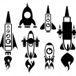 Rocket vector — Stock Vector