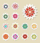 花卉矢量集 — 图库矢量图片