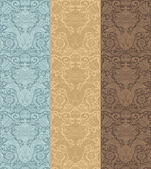Vintage seamless pattern baroque — Wektor stockowy