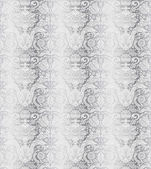 Vintage silver seamless pattern baroque — Stock Vector