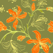 Floral vector seamless pattern — Stock Vector #38120747