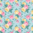 Seamless vintage floral pattern — Stock Vector #38121749