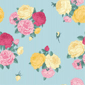 Seamless floral vintage pattern — Stock Vector