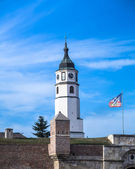 Sahat Kula - Clock Tower Belgrade Serbia — Stock Photo