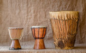 Percussion instruments — Stock Photo