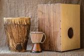 Instrumentos de percussão — Foto Stock