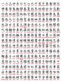 包括大量翻译中国的 — 图库矢量图片