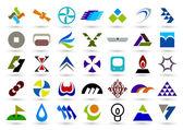 Company icon. such logos — Stock Vector
