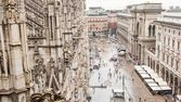 View from dome in Milan — Stock Photo