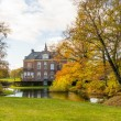 Foto Stock: Old Dutch mansion house