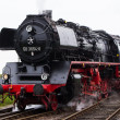 Antique Dutch steam locomotive — Stock Photo #38978683