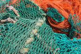 13categorias fishingnets coloridos da sé — Fotografia Stock