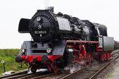 アンティークのオランダの蒸気機関車 — ストック写真