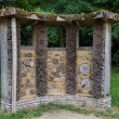 Foto Stock: Bee house in a public park