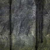 Weathered black marble — Foto de Stock