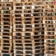 Stock Photo: Wooden pallets background