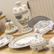 Постер, плакат: Traditional Delft blue plates