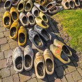 Dutch wooden shoes — Stock Photo