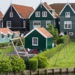 Historic Dutch fishermen village called Marken — Stock Photo #46020495