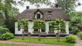 Cozy little cottage in Giethoorn Netherland — Stock Photo