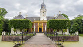 Castle the  Fraylemaborg in the Netherlands — Stock Photo