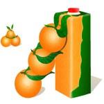 Постер, плакат: Ripe oranges