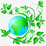 Постер, плакат: Ecology logo