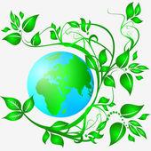 Ökologie-logo — Stockfoto