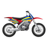 Sport motorcycle — Stock Vector