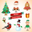 Christmas set — Stock Vector #38238279