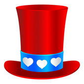 Saint valentine's hoed — Stockvector