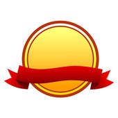 Round badge — Stock vektor
