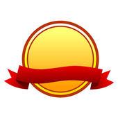 Round badge — Wektor stockowy