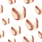 Baseball background — Vecteur
