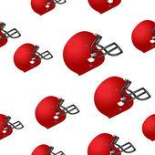 Footbal helmet background — Stock Vector