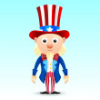 ������, ������: Uncle Sam character