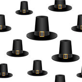 Pilgrim hat background — Stock Photo