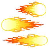 Firebals — Stock vektor