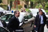 Primer ministro de antonis samaras de Grecia — Foto de Stock