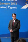 Nicos Anastasiades, President of Cyprus — Stock Photo