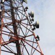 Phone signal transmitter tower — Stock Photo #39621305