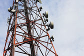 携帯電話信号送信機タワー — ストック写真