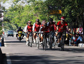 Cycling Sports Group — Stock Photo