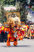 Indonesian Culture carnival — Stock Photo
