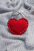 Corazón rojo — Foto de Stock
