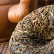 Stock Photo: Puer tea