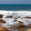 Stony seashore — Stock Photo #41626529
