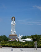 Statue of the goddess Guanyin — Stock Photo